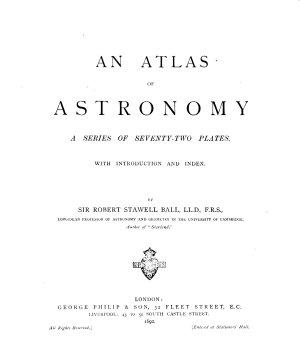 An Atlas of Astronomy PDF