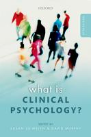 What is Clinical Psychology  PDF