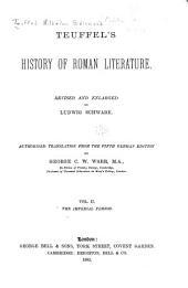 Teuffels̓ History of Roman Literature: Volume 2