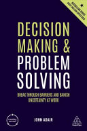 Decision Making and Problem Solving PDF