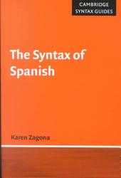 The Syntax of Spanish PDF