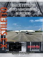Douglas X-3 Stiletto Pilot's Flight Operating Instructions