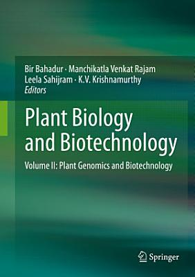 Plant Biology and Biotechnology PDF