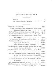 Journal of Social Science: Containing the Transactions of the American Association, Issues 5-8