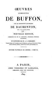 Oeuvres complètes de Buffon: avec les descriptions anatomiques de Daubenton, son collaborateur, Volume15,Partie3