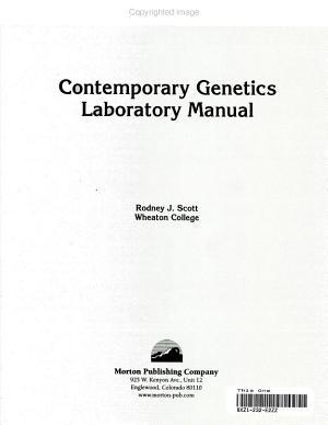 Contemporary Genetics Laboratory Manual PDF