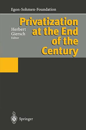 Privatization at the End of the Century PDF