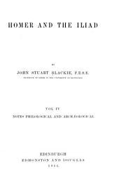 Homer and the Iliad: Volume 4