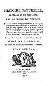 Histoire naturelle, générale et particulière: Volume2;Volume6