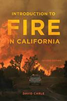 Introduction to Fire in California PDF