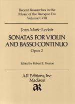 Sonatas for violin and basso continuo, opus 2