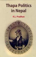 Thapa Politics in Nepal PDF