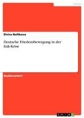 Deutsche Friedensbewegung in der Irak-Krise