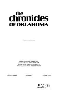 Chronicles of Oklahoma