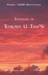 Testament de Tchicaya U Tam'Si