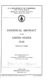 Statistical Abstract of the United States