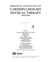 Principles and Practice of Cardiopulmonary Physical Therapy PDF