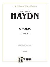 Haydn Sonatas (Complete): For Violin and Piano