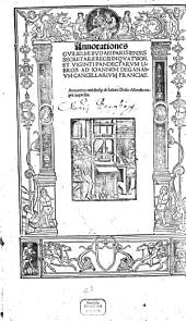 Annotationes ad 24 Pandectarum libros