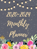 2020-2024 Monthly Planner