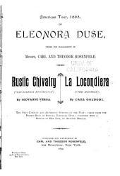 """Rustic Chivalry (""""Cavalleria Rusticana"""")"""