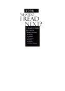 What Do I Read Next 1998