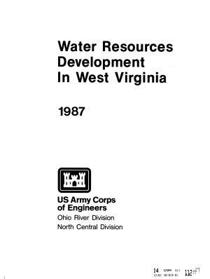 Water Resources Development in West Virginia PDF