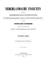 Beschrijvingen en afbeeldingen van Nederlandsche vlinders: Volume 2