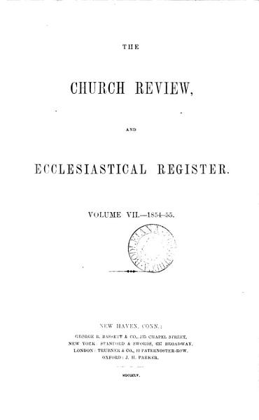 Download The Church review  and ecclesiastical register  afterw   The American quarterly Church review  an ecclesiastical register  afterw   The American Church review  afterw   The Church review Book