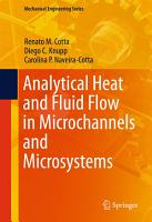 Analytical Heat and Fluid Flow in Microchannels and Microsystems PDF