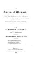 The Memorials of Westminster PDF