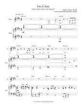 "I'm A Tree: From ""Fancy Nancy The Musical"" (Digital Piano/Vocal Sheet Music)"