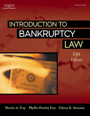 Introduction to Bankruptcy Law PDF