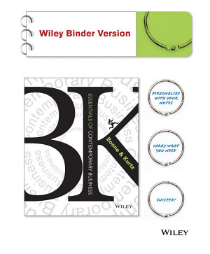Essentials of Contemporary Business, Binder Ready Version