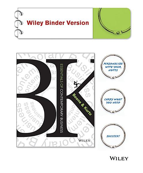 Essentials of Contemporary Business  Binder Ready Version