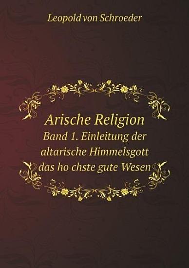 Arische Religion PDF