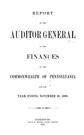 Fiscal Report for the Fiscal Year Ended June 30 ...: Volume 1890