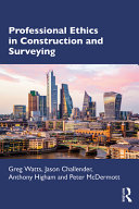 Professional Ethics for Construction and Surveying PDF