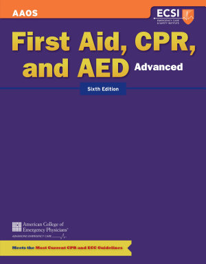 Advanced First Aid  CPR  and AED PDF