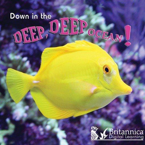 Download Down in the Deep Deep Ocean Book