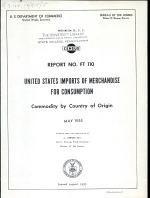 United States Imports of Merchandise for Consumption
