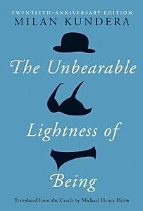 The Unbearable Lightness of Being Book