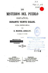 Los misterios del pueblo español durante veinte siglos: novela histórico-social, Volumen 3