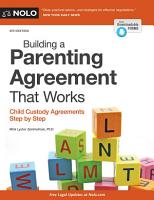 Building a Parenting Agreement That Works PDF