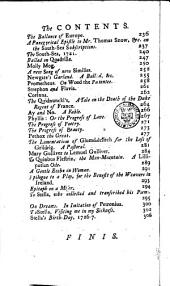 Miscellanies [by J. Swift and others].