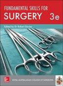 Fundamental Skills for Surgery