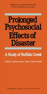 Prolonged Psychosocial Effects of Disaster Book