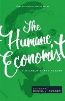 The Humane Economist Book