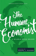 The Humane Economist PDF