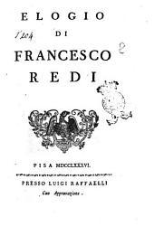 Elogio di Francesco Redi